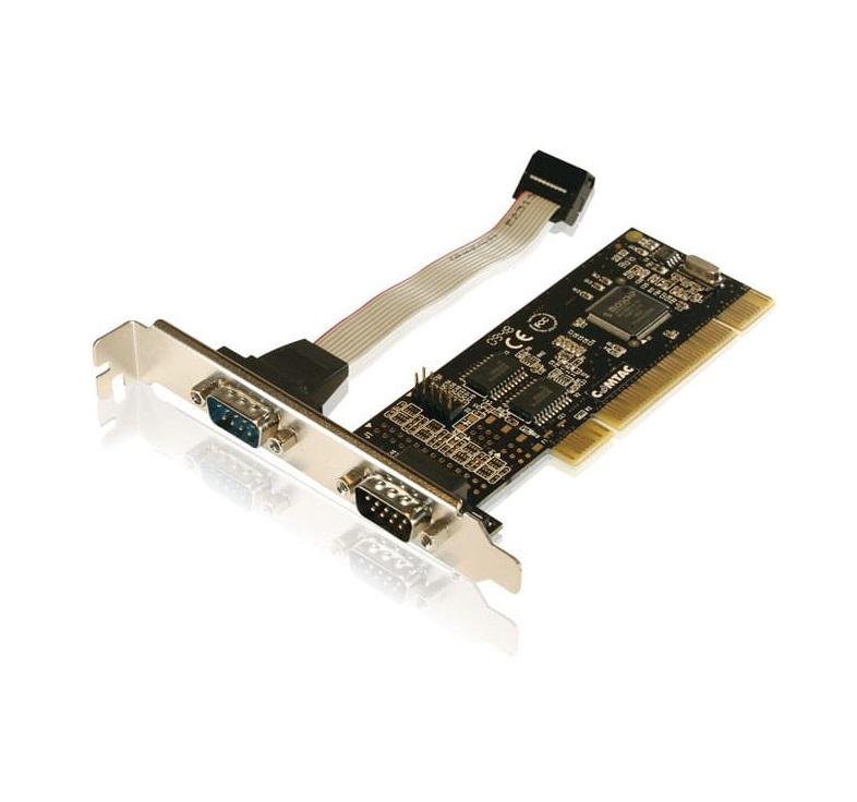 Placa Serial Pci 2 portas Comtac 9044 Perfil Baixo