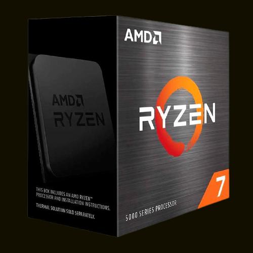 PROCESSADOR AMD AM4 RYZEN 7 5800X 3.8/4.7GHZ