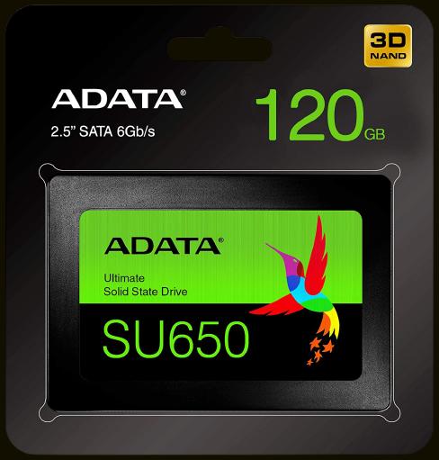 SSD SATA3 120GB ADATA ASU650SS-120GT-R