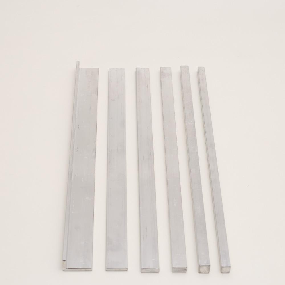 Conjunto de gabaritos - Alumínio - 6 pçs