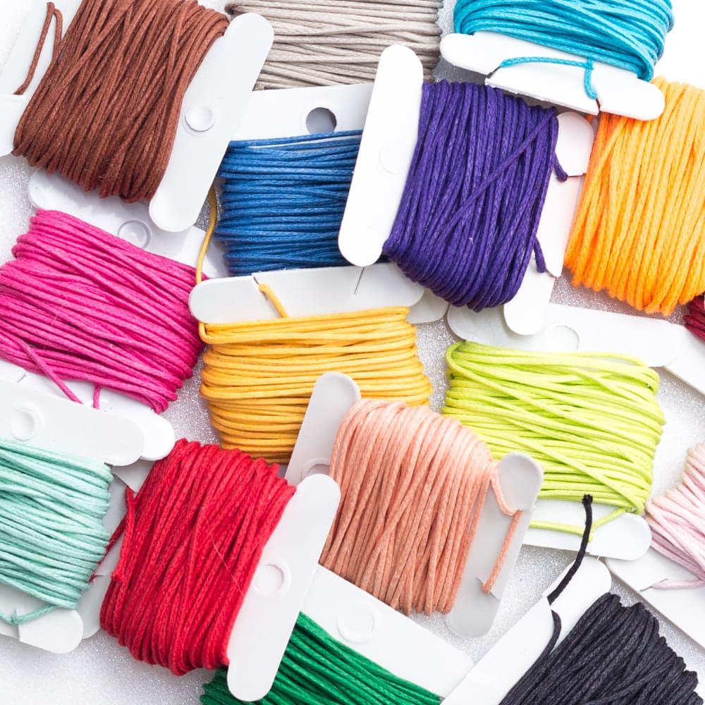 Linha encerada de algodão - 5mt