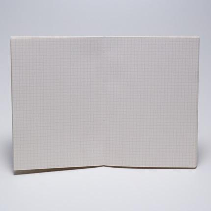 Miolo pólen A5 90g/m² quadriculado - 96 fls