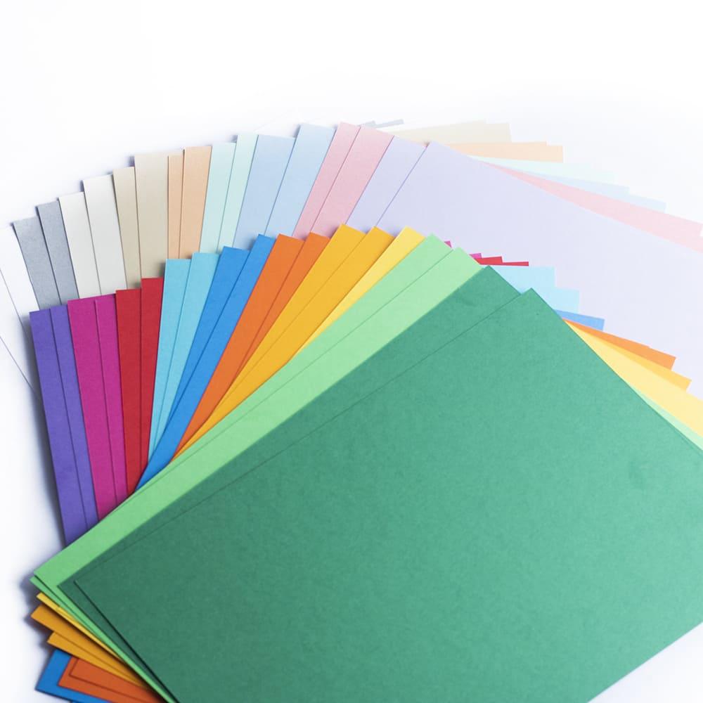 Papel Color Plus A4 180g/m² MIX