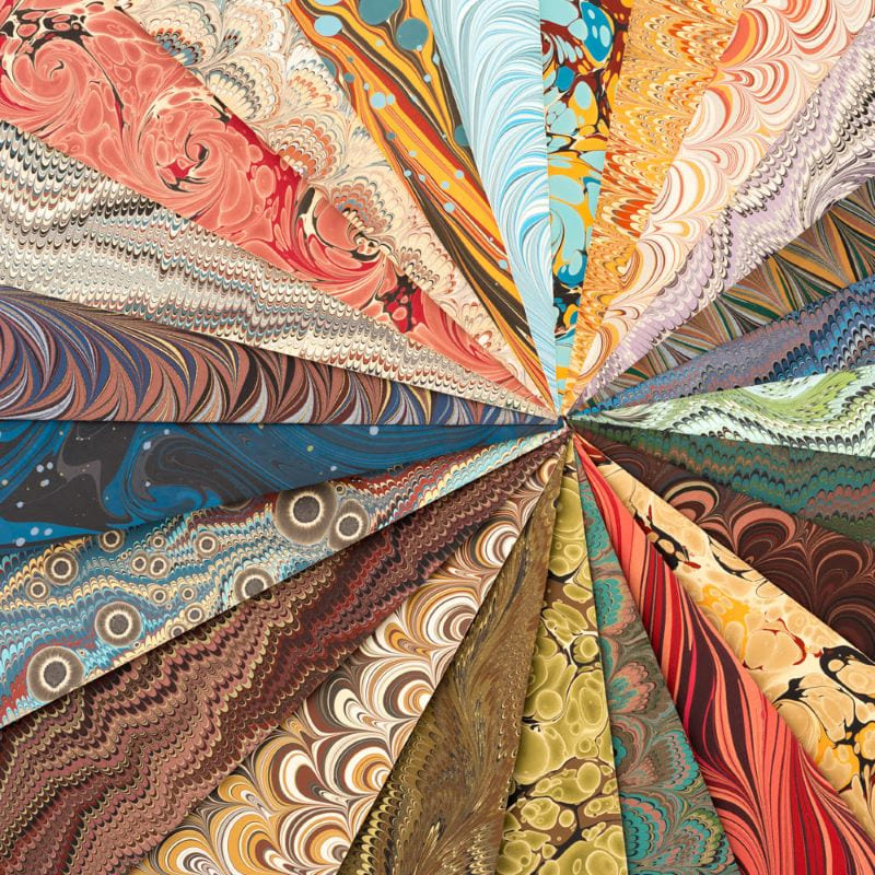 Papel Marmorizado Crepaldi 32x46cm