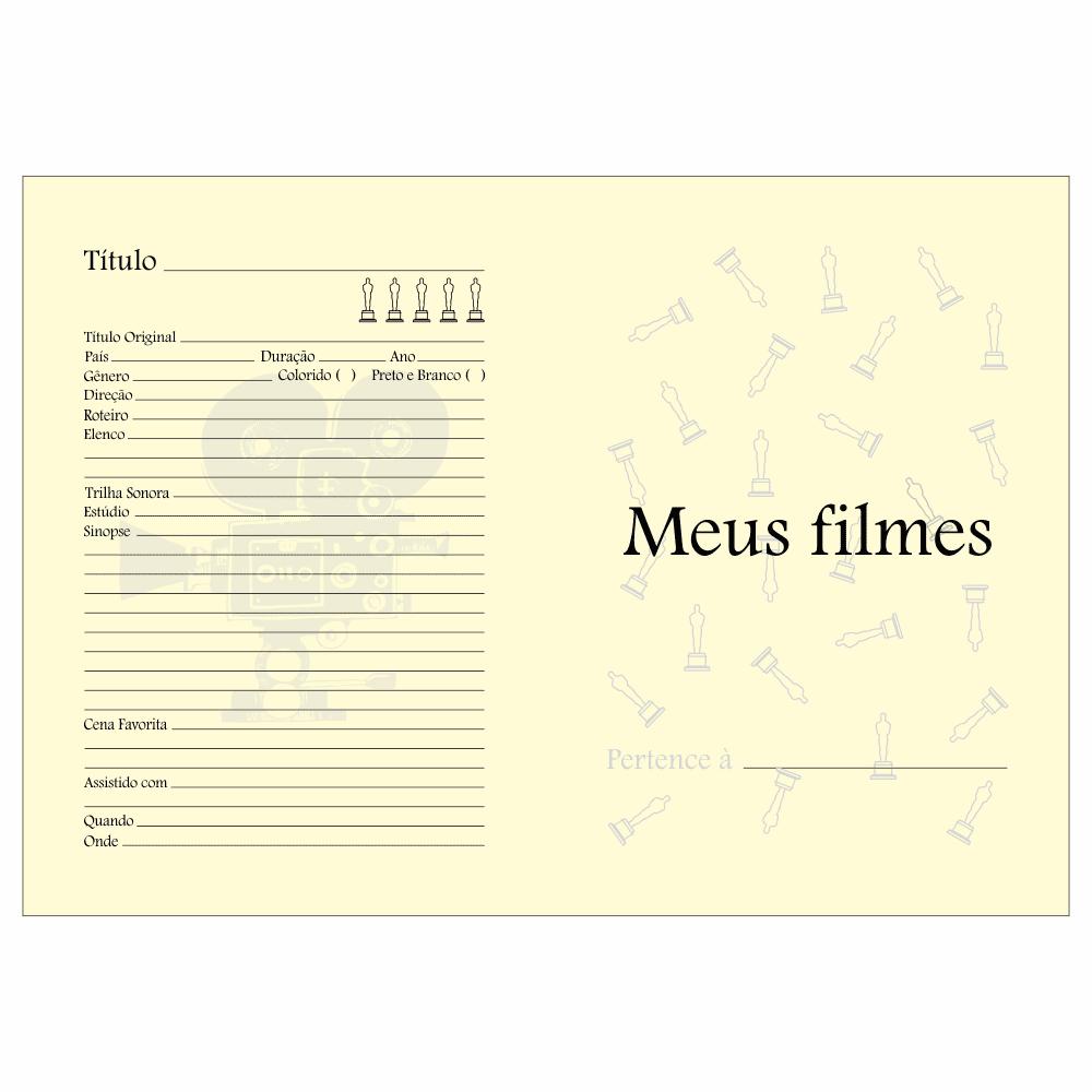 Papel Pólen A4 90g/m² Meus Filmes - 100fls