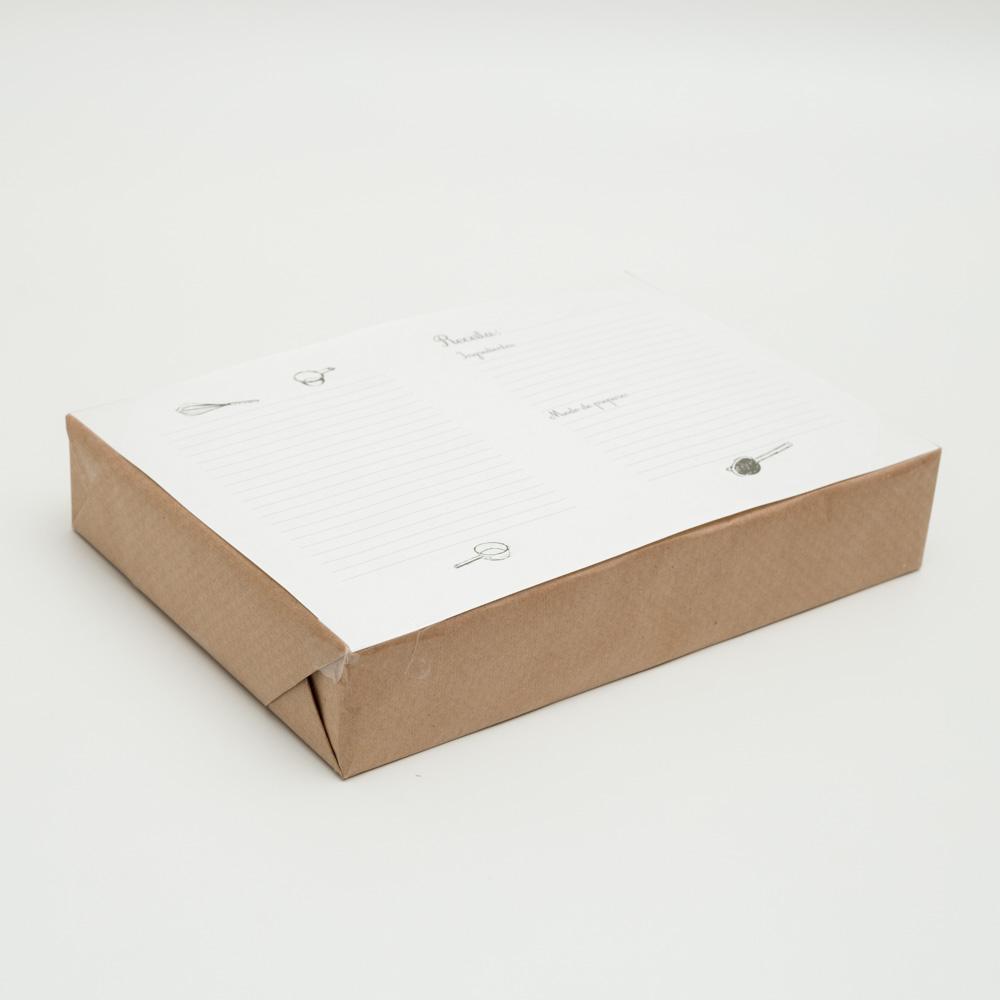 Papel Pólen A4 90g/m² Receitas - 500 fls