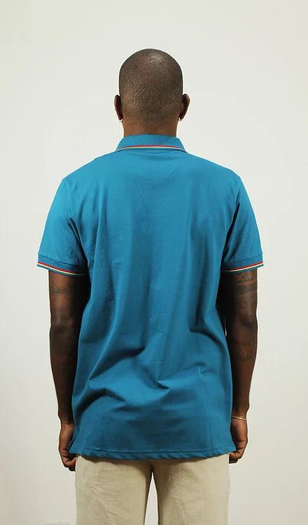 Camisa Polo Petróleo