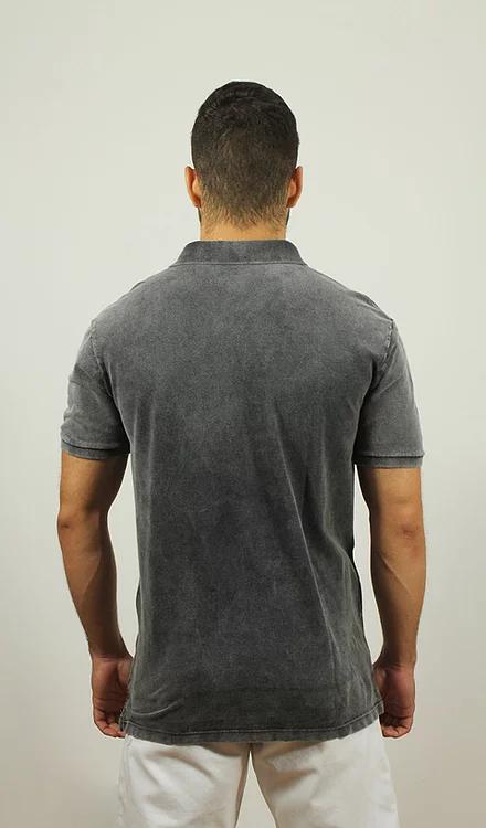 Camisa Polo Marmorizada