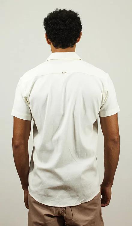 Camisa Viscolinho Off White