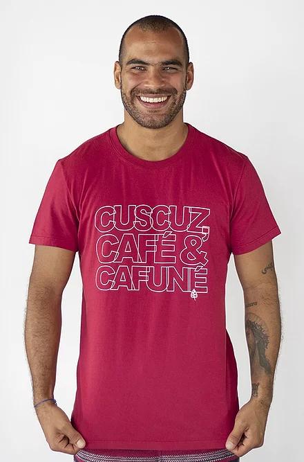 Camiseta CUSCUZ, CAFÉ & CAFUNÉ