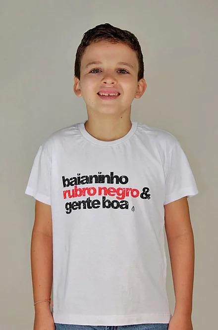 Camiseta Infantil Rubro Negro