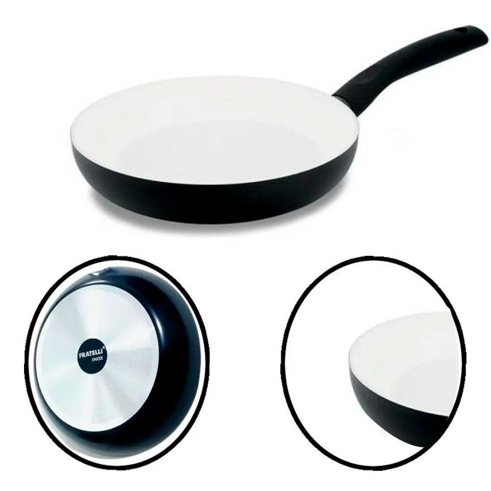 Jogo Frigideiras Cerâmica Antiaderente 2 Peças c/ Espátula
