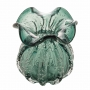 Vaso De Vidro Italy Verde Esmeralda 10X11cm