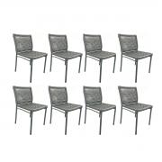 Kit com 8 Cadeiras Alteia