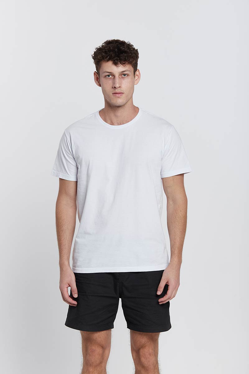 Camiseta Basica Branca Regular