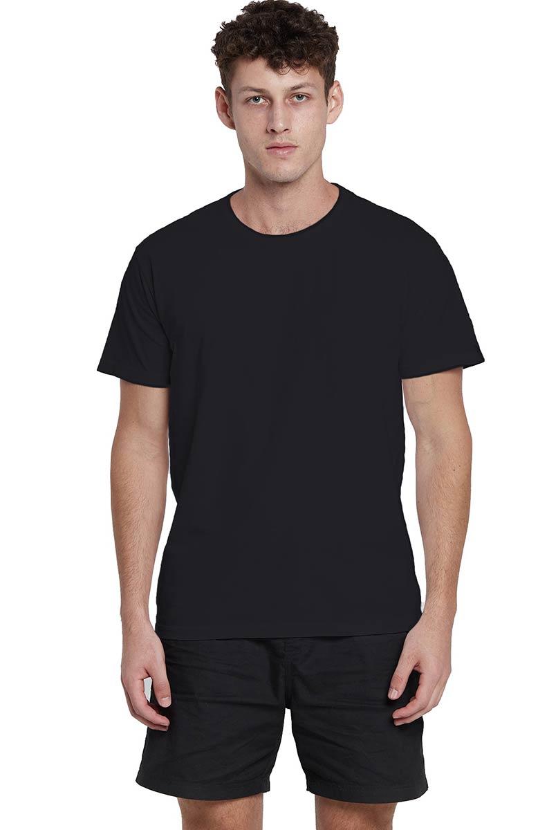 Camiseta Básica Preta Regular Kessler