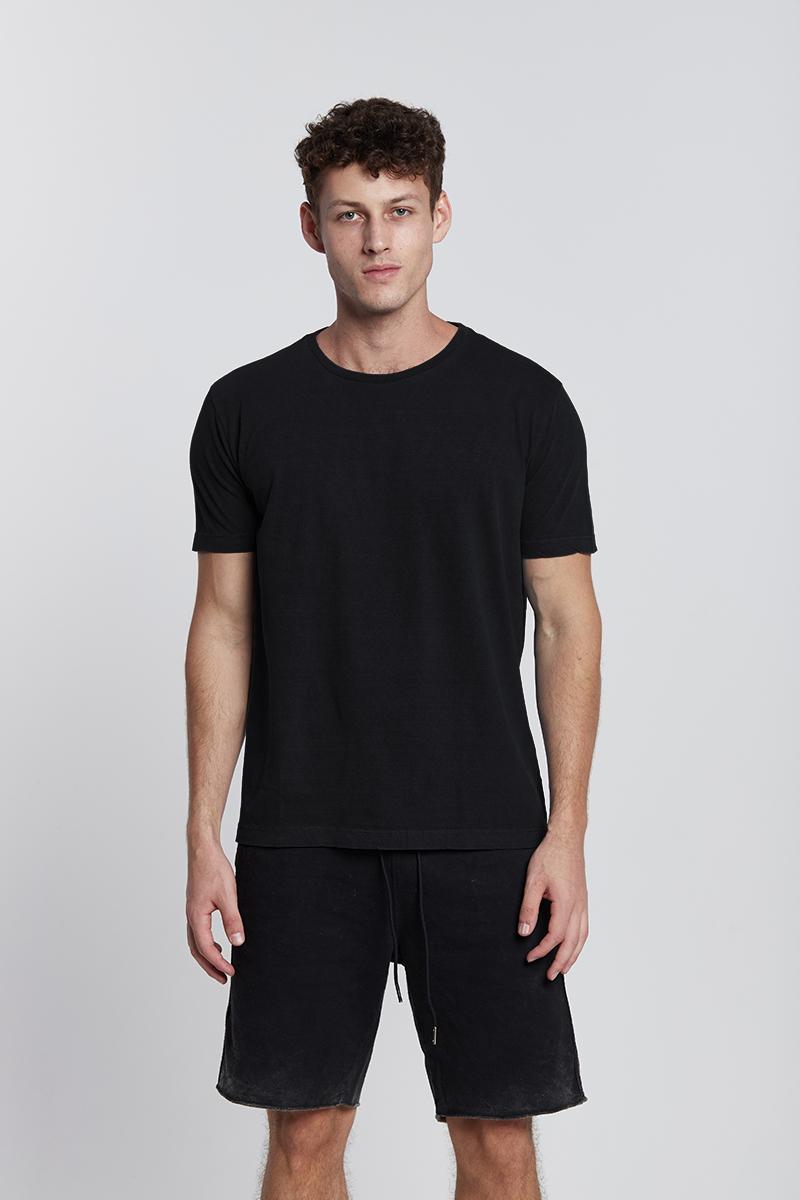 Camiseta Básica Preta Slim Kessler