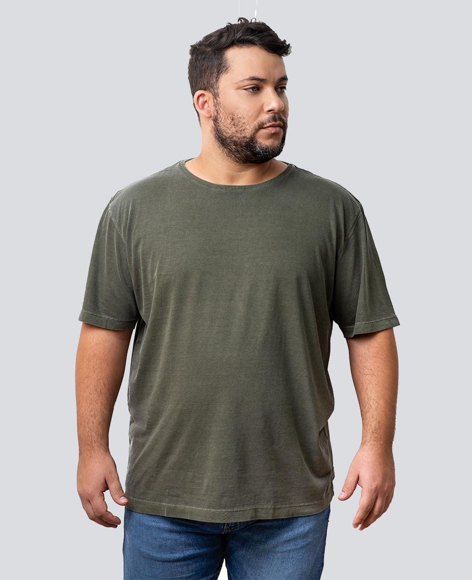 Camiseta Estonada Plus Size