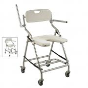 Cadeira de banho Plus Alumínio dobrável - Zimex