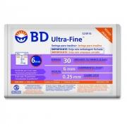 Seringa Ultra - Fine agulha 6 x 0.25mm 10 und - BD