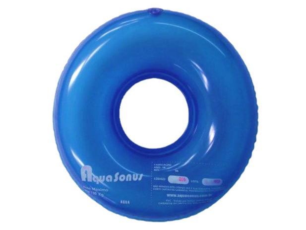 Almofada Inflável Redonda Com Orifício Anti-escaras - Aquasonus