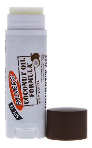 Batom Protetor Spf 15 Lip Balm Coconut Oil Palmers 4g
