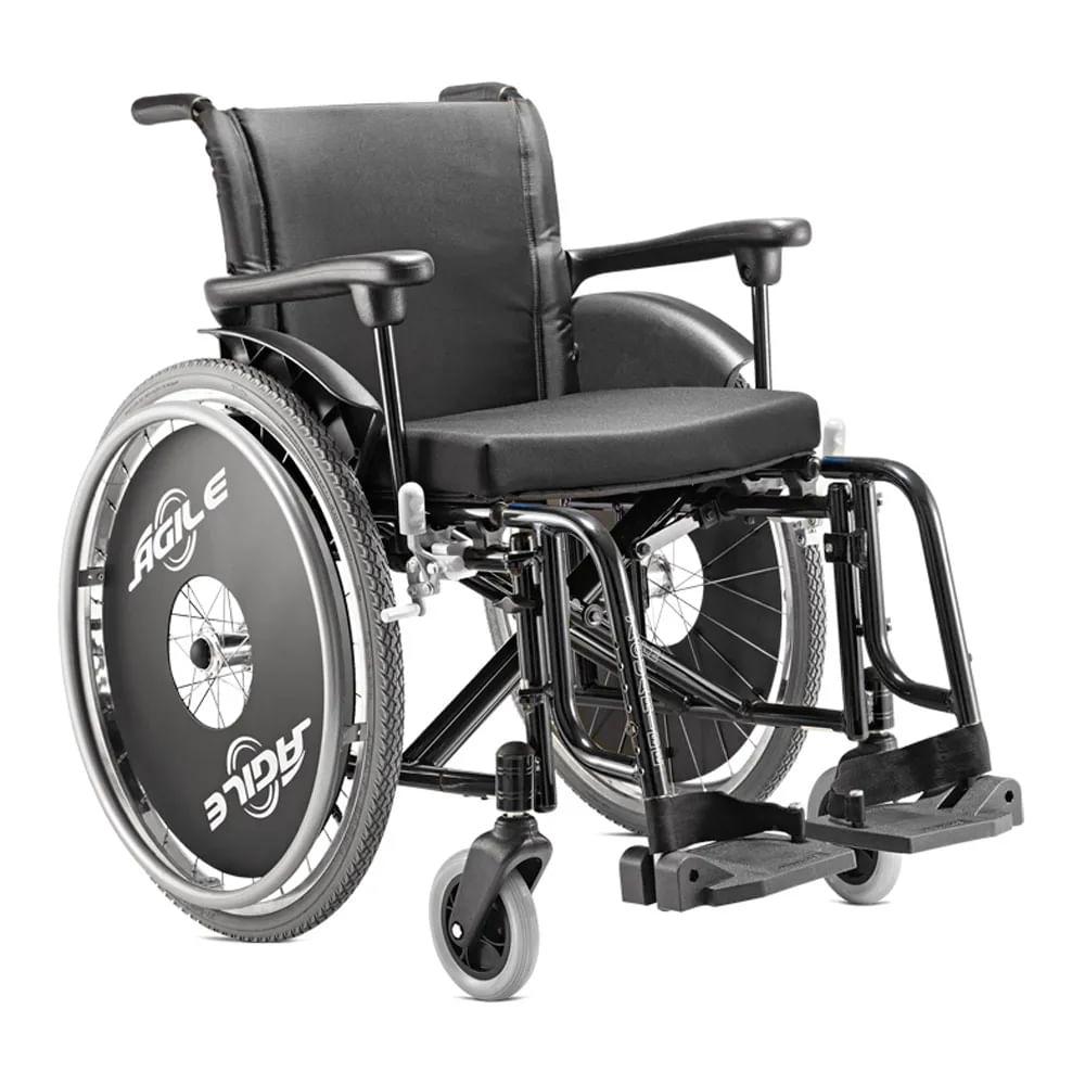 Cadeira de Rodas Ágile Alumínio - Jaguaribe