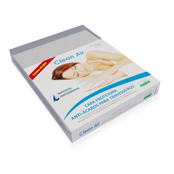 Capa Protetora Travesseiro Adulto Clean-Air