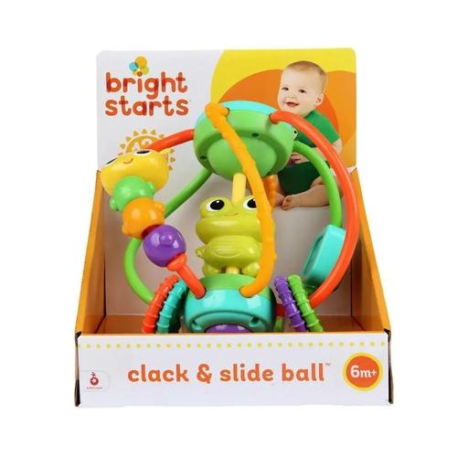 Chocalho Clack & Slide Ball - Bright Starts