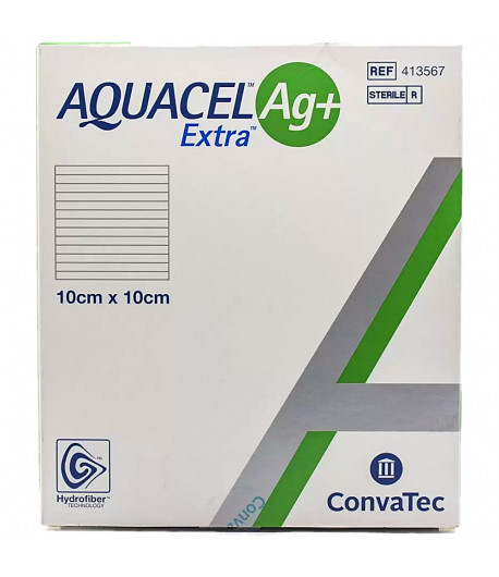 Curativo Aquacel Ag + Extra 10x10
