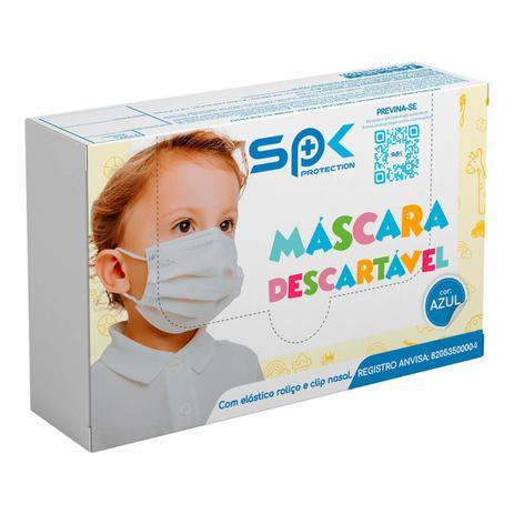 Máscara Descartável Infantil Cx c/25un SPK
