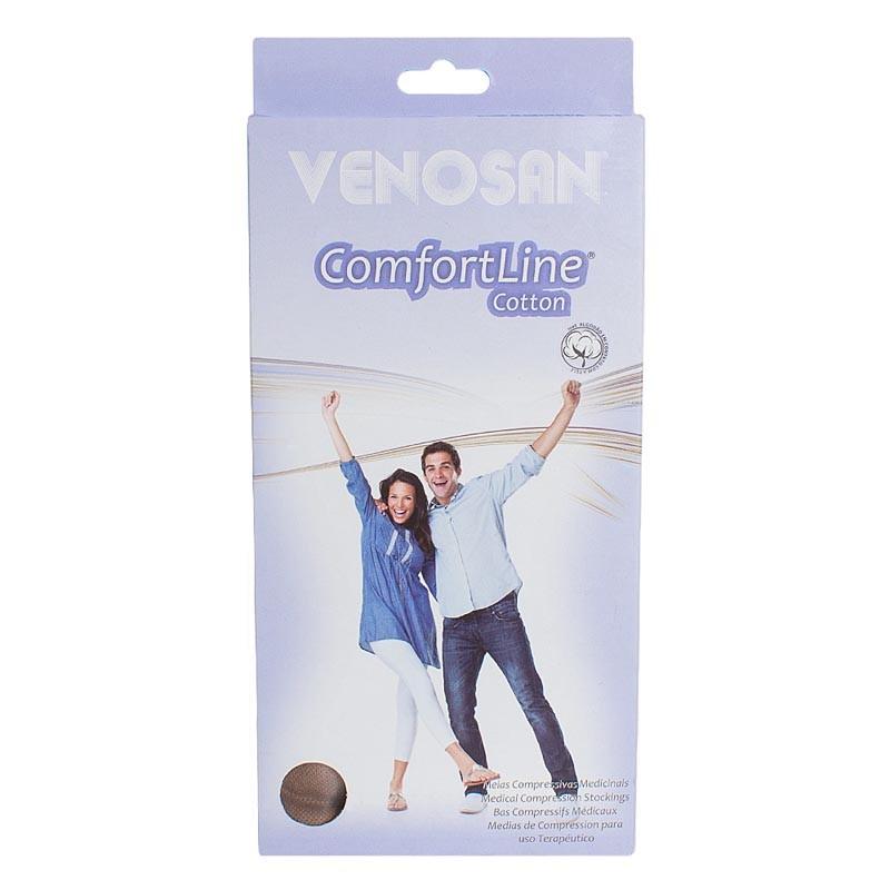 Meia Venosan Comfortline 20-30 mmHg Meia-coxa com silicone