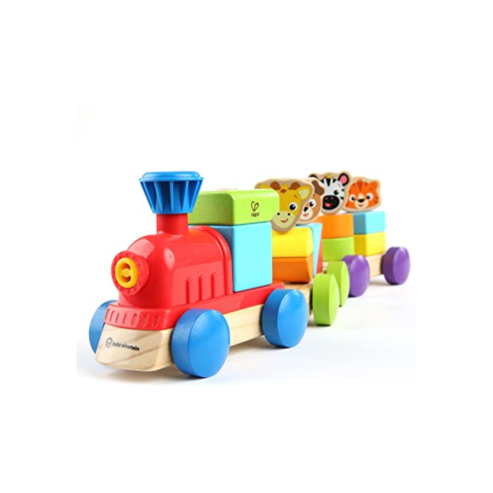Trenzinho Discovery Train Madeira, Baby Einstein - Hape