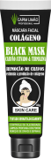 Máscara Facial Bisnaga Black Mask 40g Capim Limão