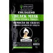 Máscara Facial Sachê 8g Black Mask Capim Limão