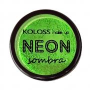 Sombra Neon Koloss cor 01 - Lemon Fluo