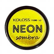 Sombra Neon Koloss cor 02 - Citrino Fluo