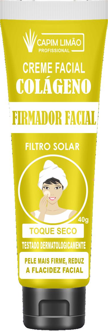 Creme Facial Bisnaga Firmador 40g Capim Limão