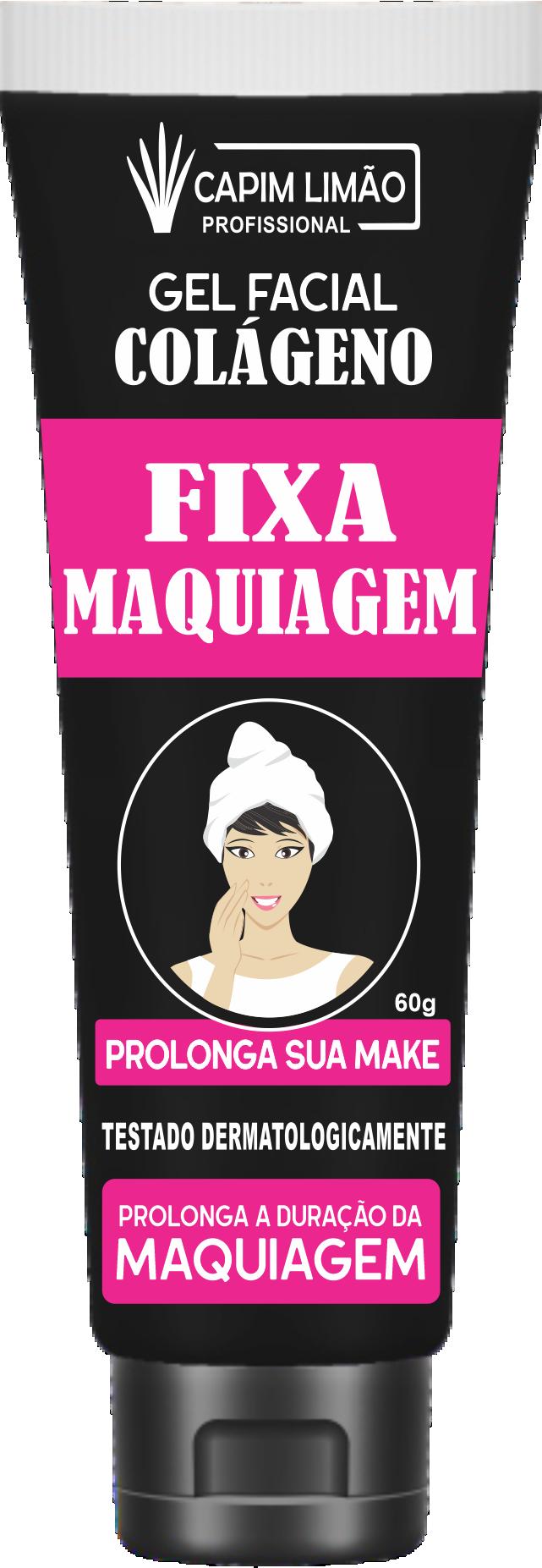 Fixa Maquiagem Gel Capim Limão 60 ml