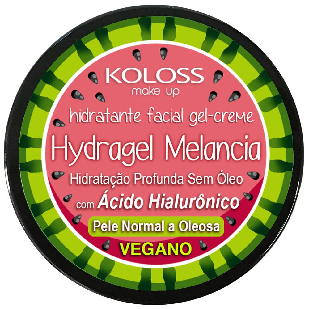 Hidratante Facial Hydragel Melancia Koloss