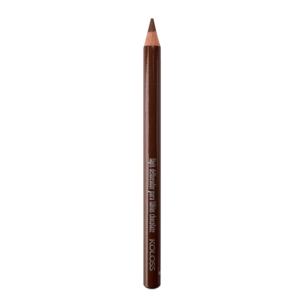 Lápis Delineador de Lábios Koloss - Chocolate