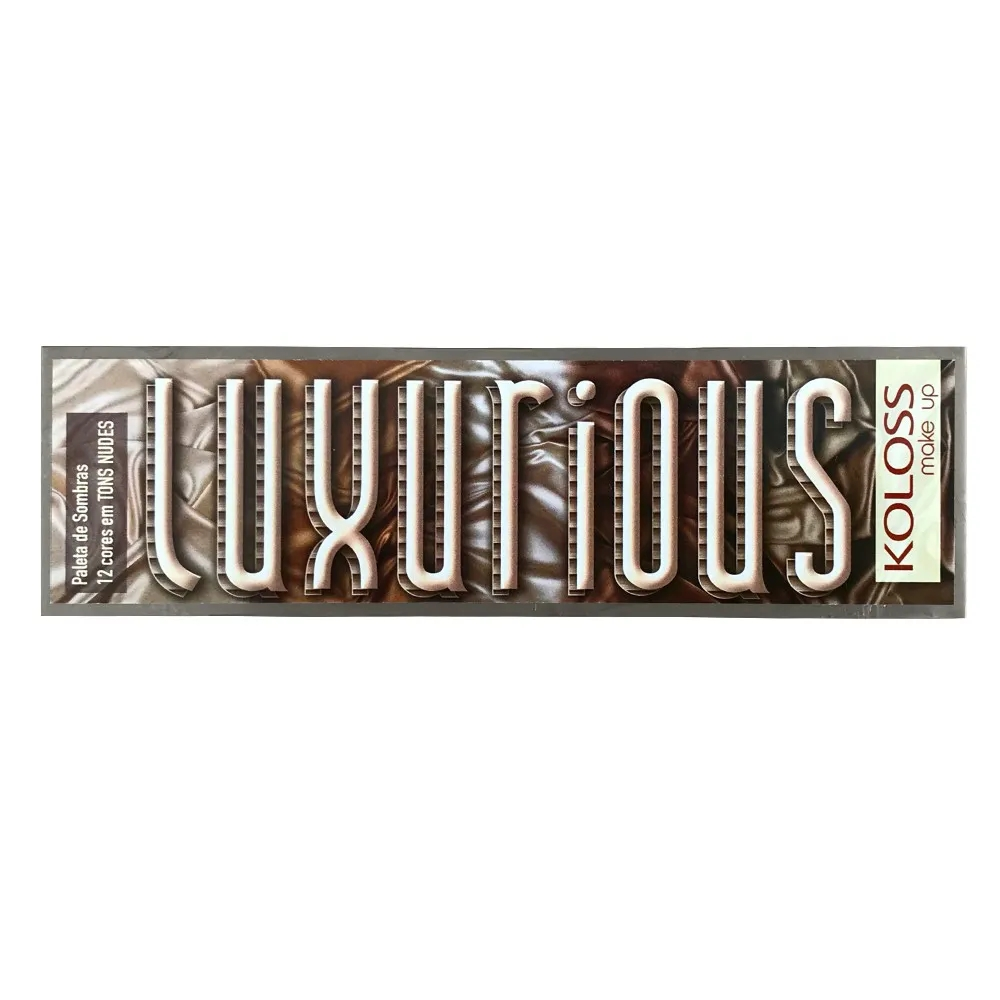 Paleta de Sombras Koloss 01 - Luxurious