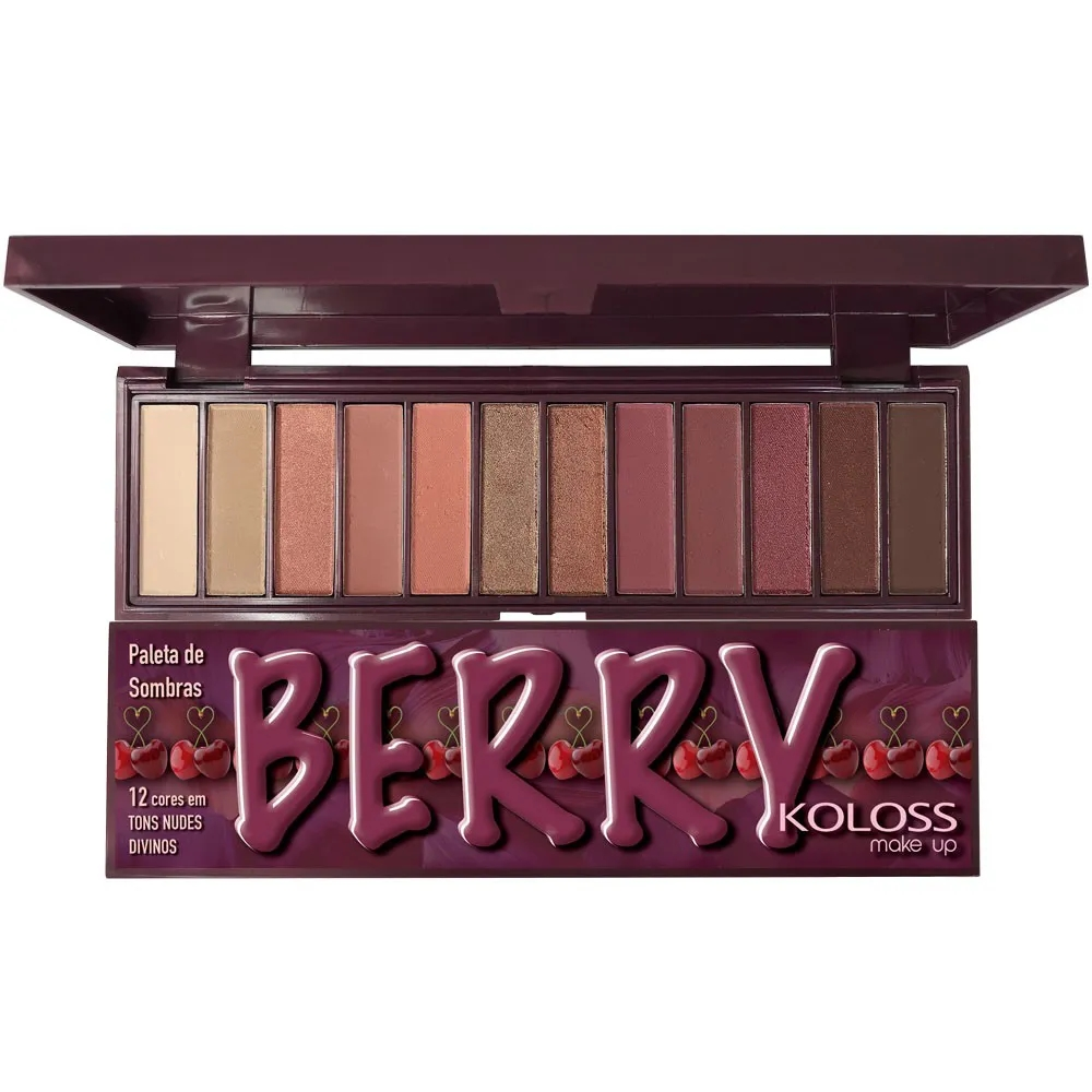 Paleta de Sombras Koloss 07 - Berry
