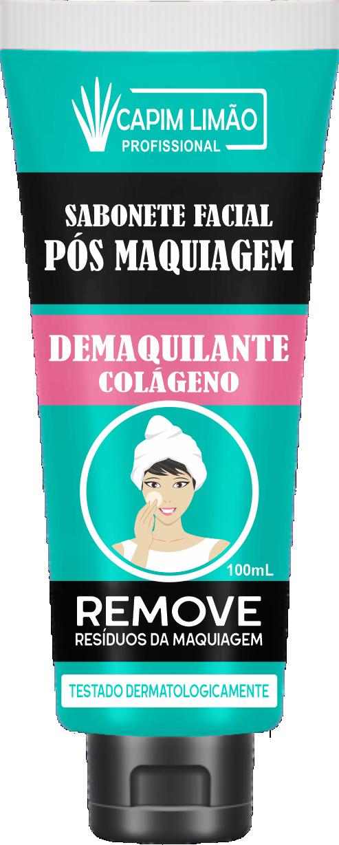 Sabonete Demaquilante Capim Limão 100 ml