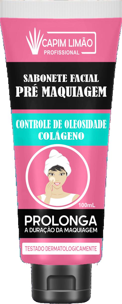 Sabonete Facial Pré-Maquiagem Capim Limão 100 ml