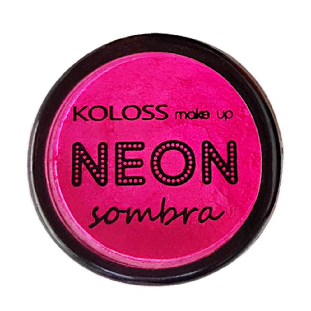 Sombra Neon Koloss cor 03 - Pink Fluo