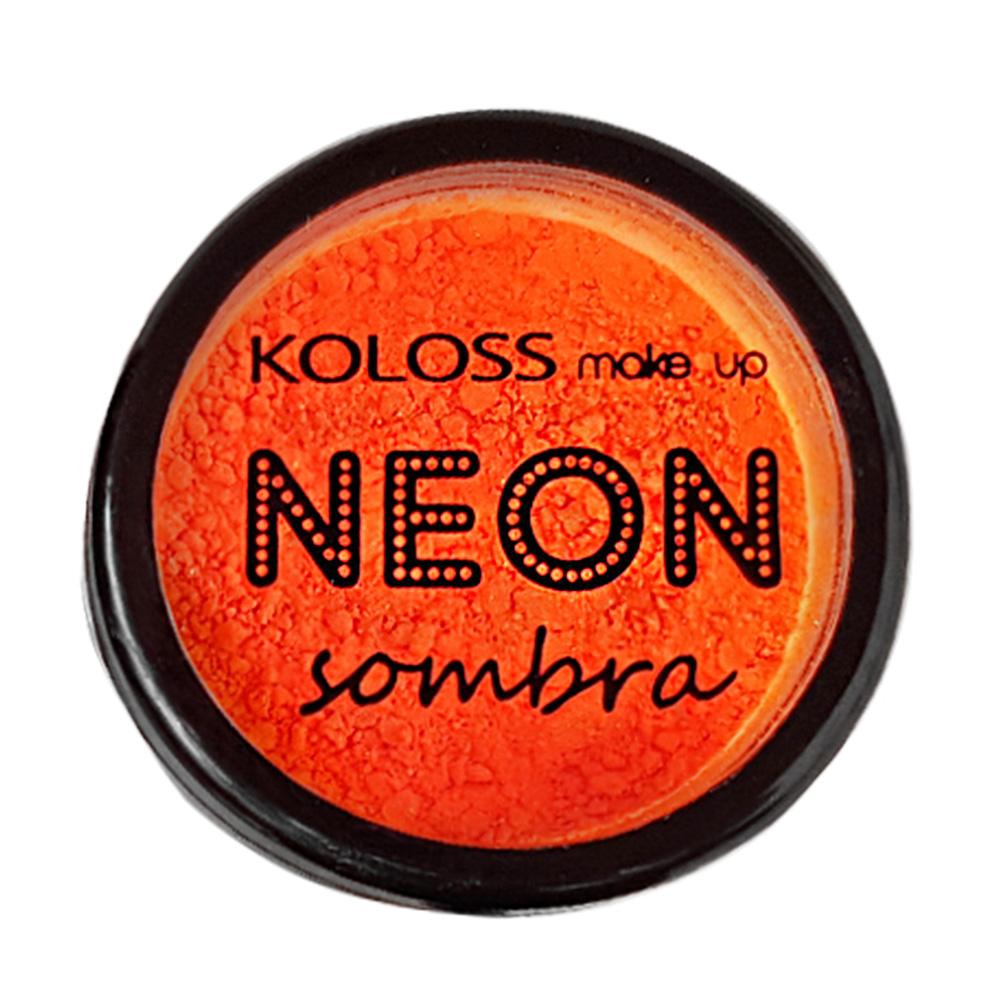 Sombra Neon Koloss cor 04 - Orange Fluo