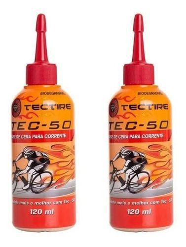 CERA LUBRIFICANTE DE CORRENTE TEC 50 TECTIRE 120 ML
