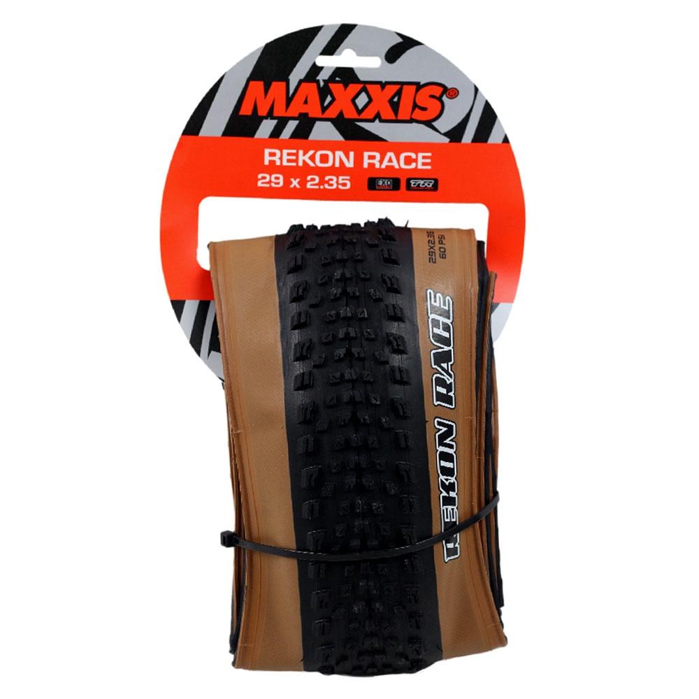 PNEU 29 X 2.35 MTB 60 PSI TUBELESS COM FAIXA MARROM REKON RACE MAXXIS