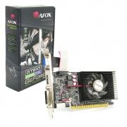 Placa de Vídeo Afox GeForce GT 610 2GB, DDR3, 64 Bits, Low Profile, HDMI/DVI/VGA - AF610-2048D3L7-V5